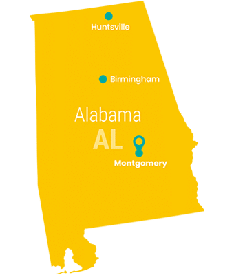 alabama_Map_Preschool_Teacher_Salary